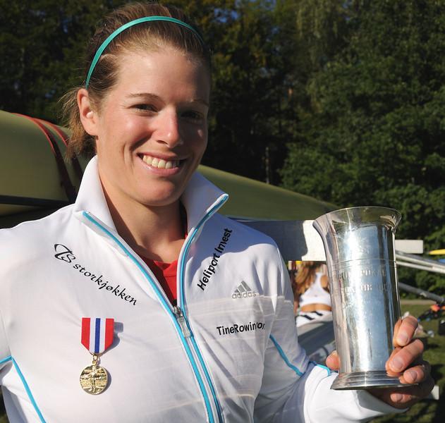 Tine Horth Schøyen vant gull i singlesculler