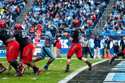Belk Bowl Cincinnati Bears vs UNC Tarheels 12-28-13 by Jon Strayhorn