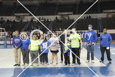 2014-11-3 UK Volleyball vs Morehead - FANS