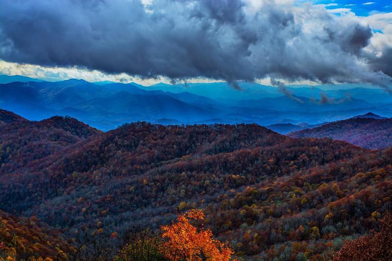 Smoky Mountains Late Fall
