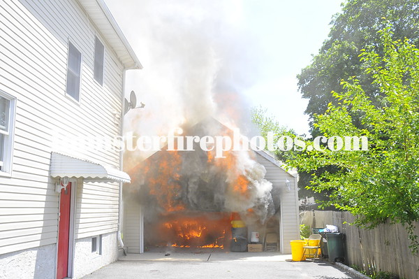 HICKSVILLE FD EAST JOHN ST GARAGE & HOUSE 6-4-11