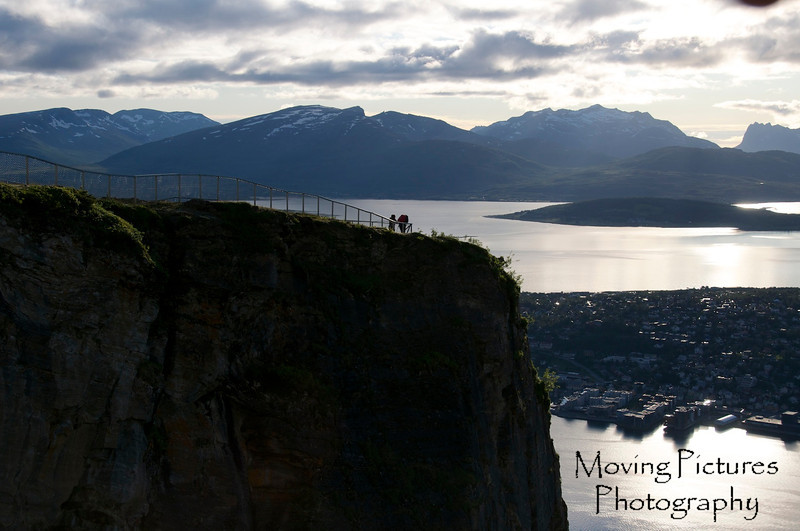 Tromso, Norway - view from Fjellheissen (cable car)