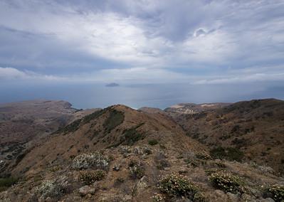 Santa Cruz Island - Scorpion  Camp to El Montanon  7.19.14
