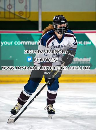 2/6/2021 - Girls Varsity Hockey - Bishop Guertin vs Portsmouth/Oyster River