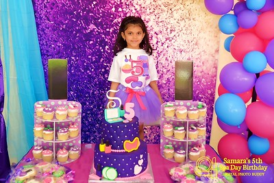 Samara's 5th Birthday Party