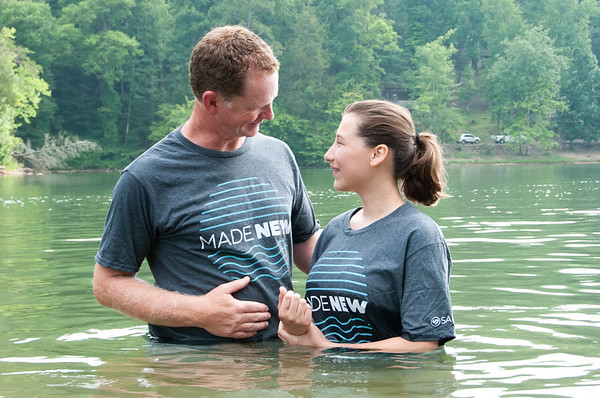 2021 August 25 Lake Baptism