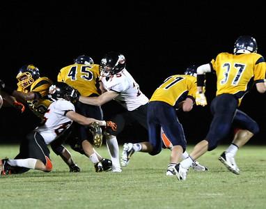 Farmington HS Varsity Football vs Red River Falls (Aug 30, 2013)