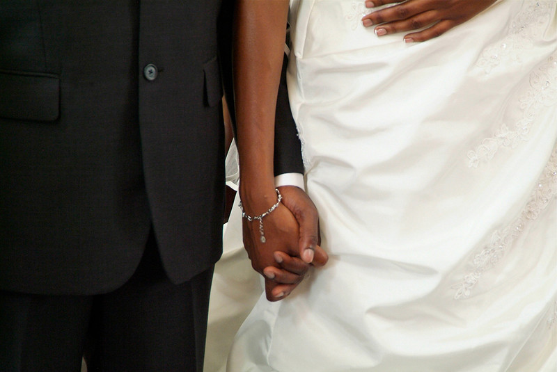 Wedding couple in Barbados