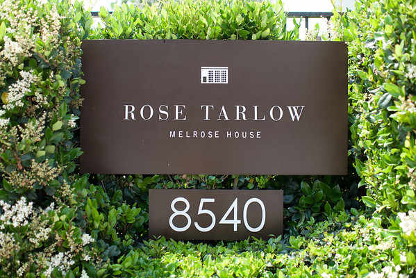 ELLE DECOR: POWER LUNCH ROSE TARLOW