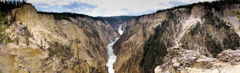 Yellowstone Falls Yellowstone National Park