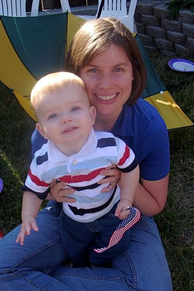 Jen and little Peyton