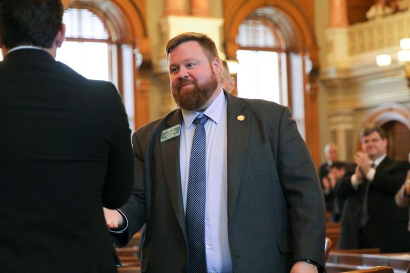 Incoming Speaker Pro Tem Rep. Blaine Finch