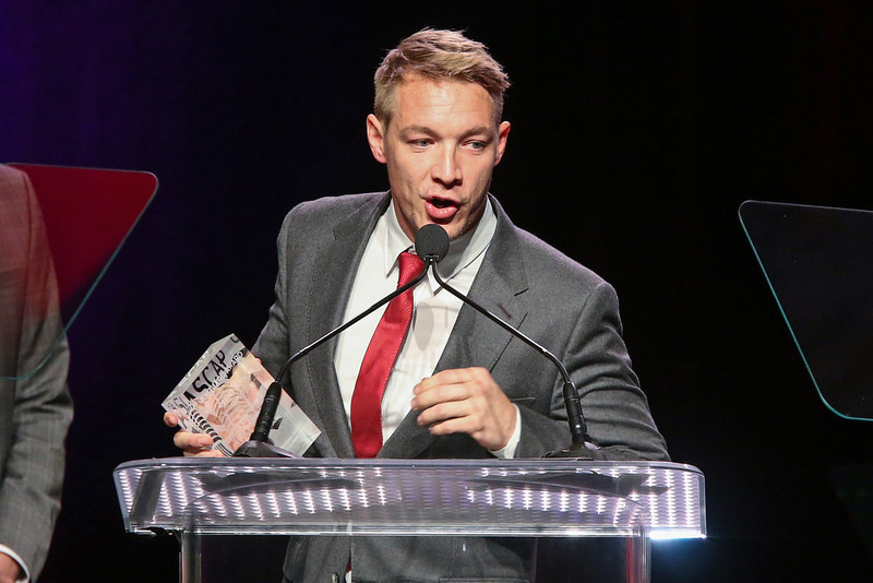 . Diplo receives the ASCAR Vanguard Award on stage during the 30th Annual ASCAP Pop Music Awards at Loews Hollywood Hotel on April 17, 2013 in Hollywood, California.  (Photo by Paul A. Hebert/Getty Images)