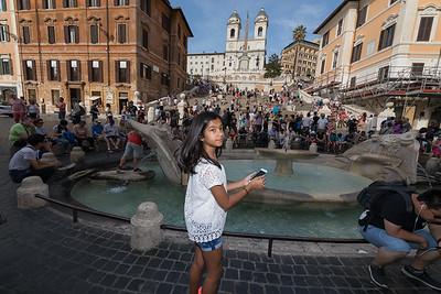 Day 1 - Spanish Steps & Trevi Fountain