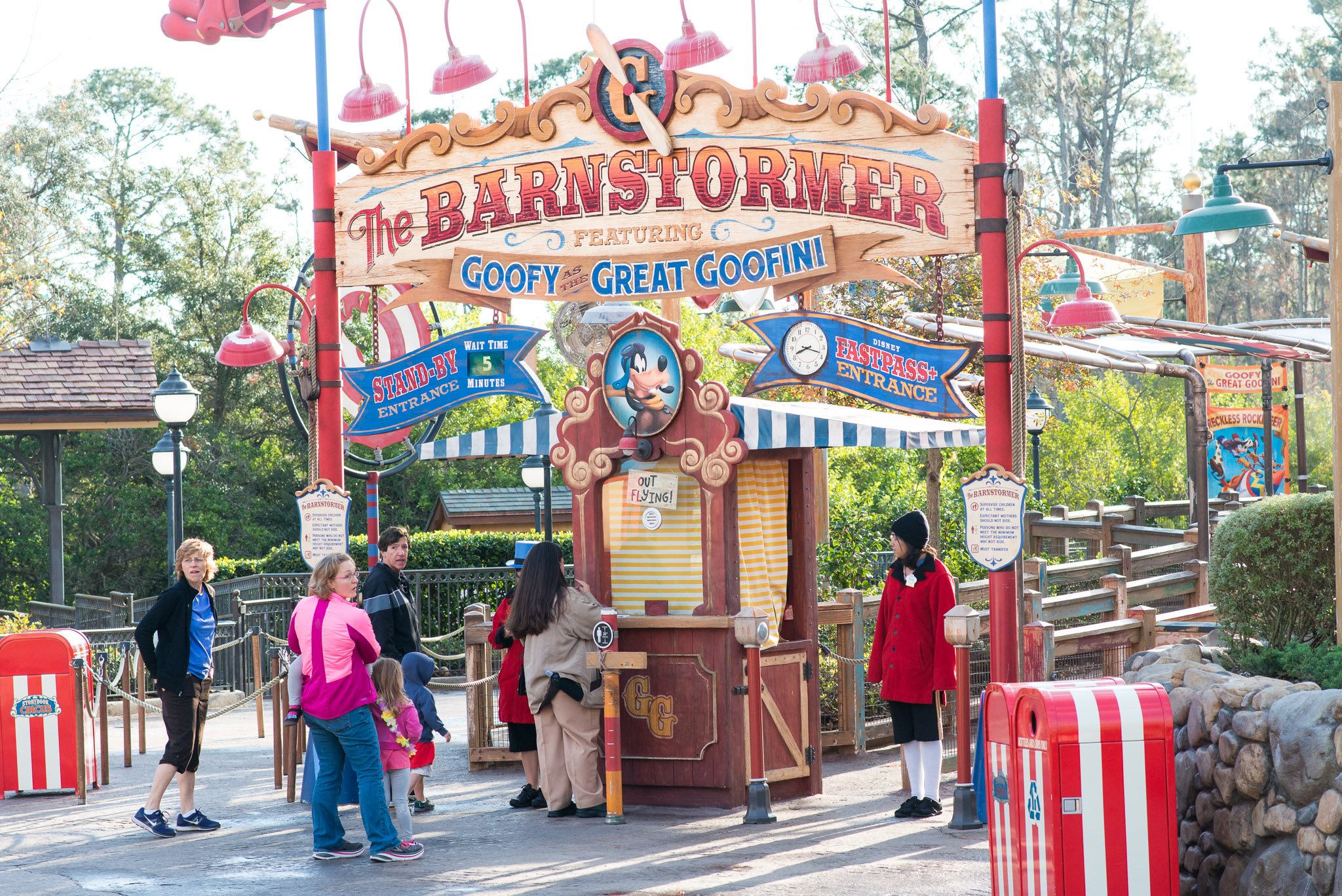Barnstormer - Walt Disney World Magic Kingdom