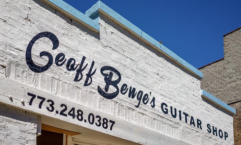 Geoff Benge's Guitar Shop