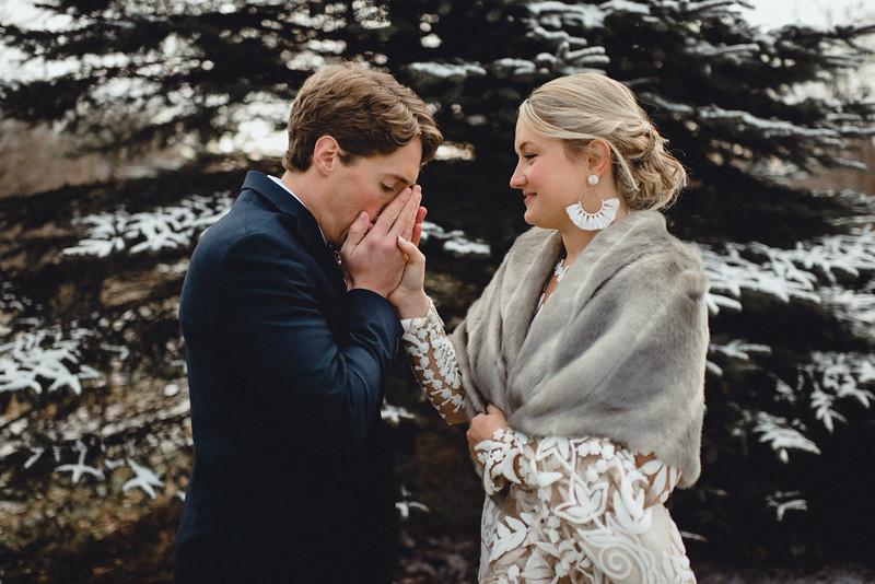 Requiem Images - Luxury Boho Winter Mountain Intimate Wedding - Seven Springs - Laurel Highlands - Blake Holly -578.jpg