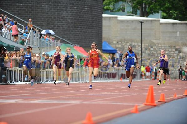 D4 Girl's 100M Final - 2017 MHSAA LP TF Finals