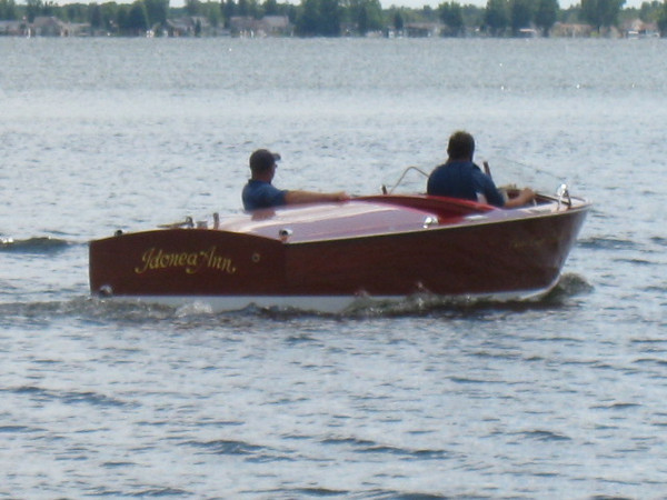 First launch of the Chris Craft Rocket