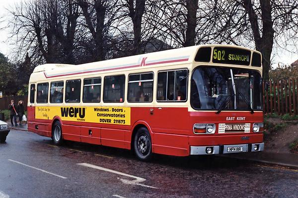 10th November 1993: Kent
