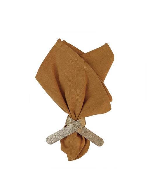 DD.85.19.1 gold glitter napkin holder ochre napkin.png