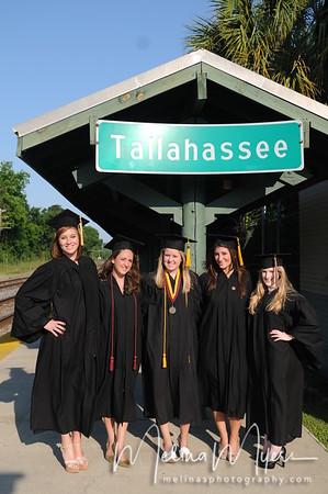 Nadja and Friends Grad Photos