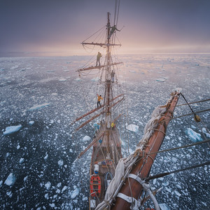 Bark Europa - Antarctica 2018