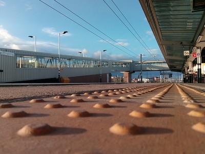 Platform 5 at Sunset