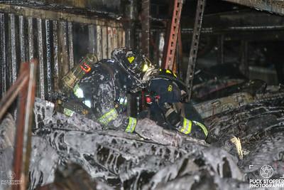 Scrapyard Fire - 625 S Columbus Ave, Mount Vernon, NY - 9/29/18