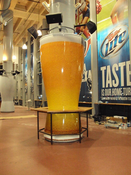 Miller Brewing, Reliant Stadium, Houston