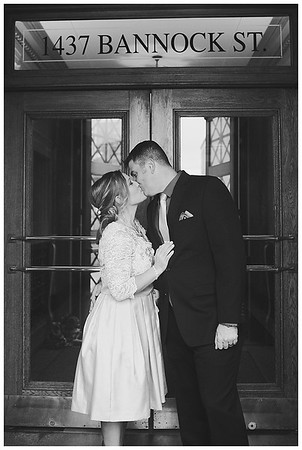 Denver Colorado Courthouse Elopement