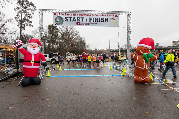 Rockin Santa Half Marathon & Sunshine 5K 20181215