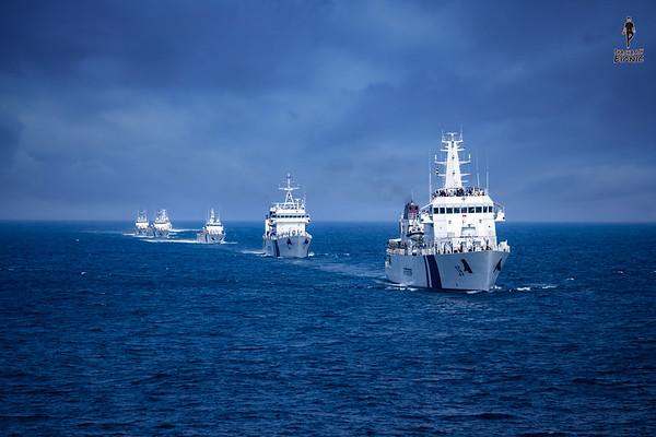 INDIAN COASTAL GUARD SHIPS