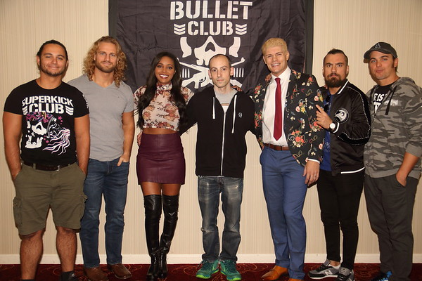 2018-10-13: BULLET CLUB PHOTO OPS