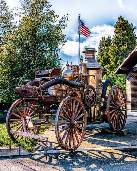 1880 American LaFrance Steam Engine