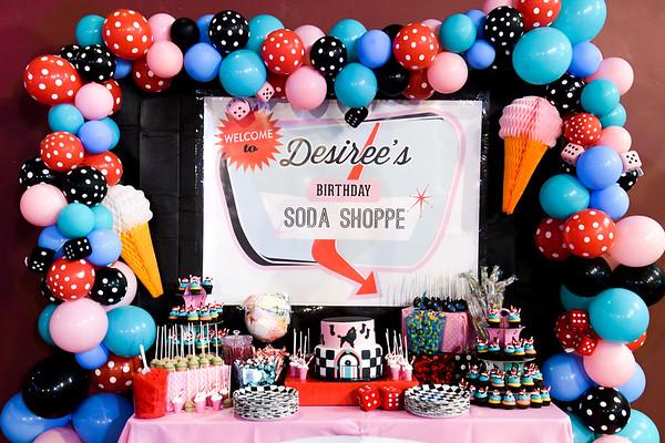 Desiree's Soda Shoppe Quinceañera
