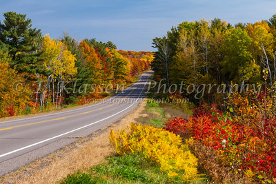Fall Foliage Highways and Roadways