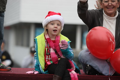 Valdese Christmas Parade 2014