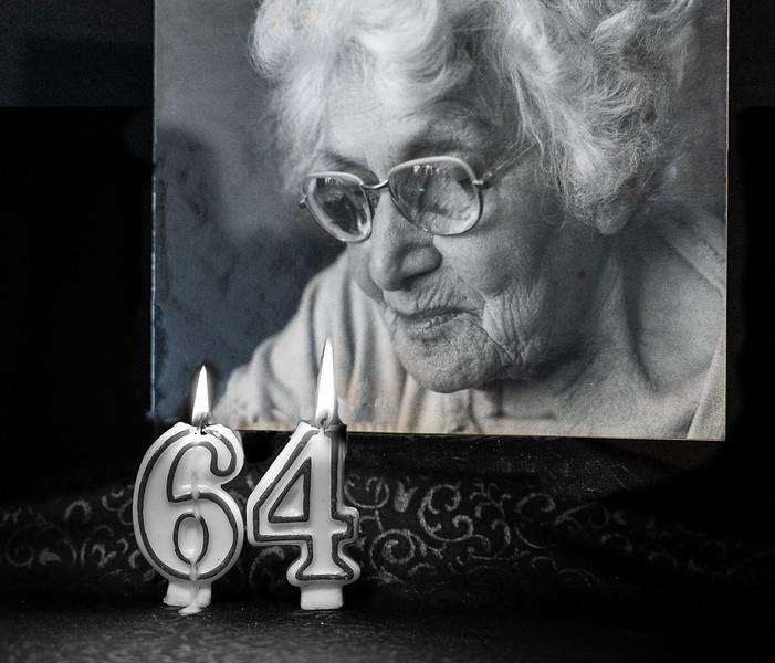 S57-Monochrome-MLMilhausen-Gramma's Birthday.JPG