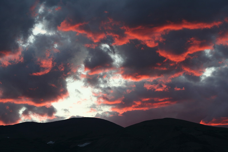 20110825 - 015 - GNP - Sunset From Glacier Park Lodge.JPG