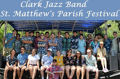 20170507 Clark Jazz Band at St. Matthew's Parish Festival