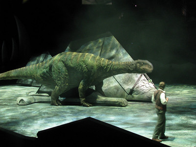 SX100 Test - Walking with Dinosaurs