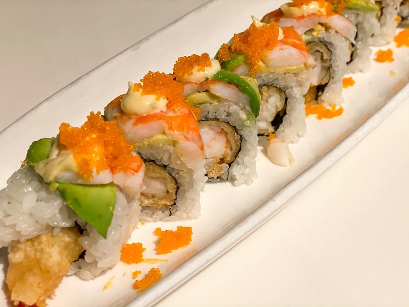 Shrimp roll at Slurping Turtle