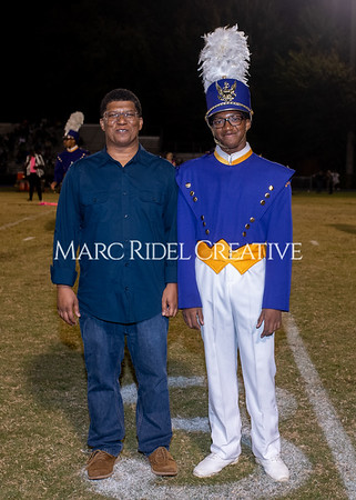 Broughton varsity football vs Cardinal Gibbons. Band and Dance Team Senior Night. October 25, 2019. MRC_3729