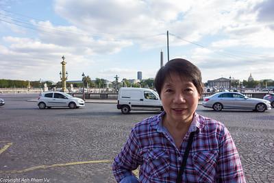 Paris with Mom September 2014