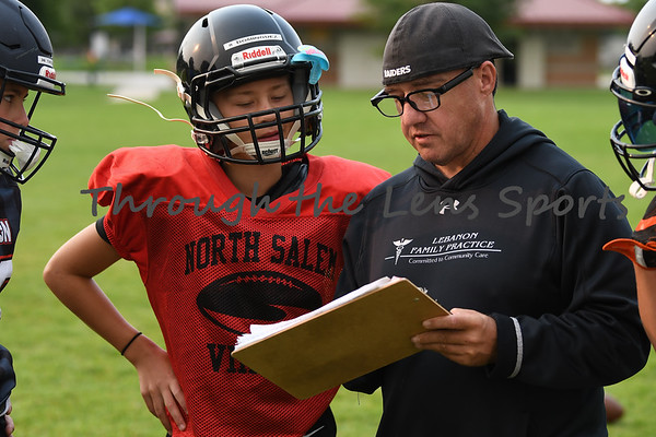 Practice 7th & 8th Grade Oregon All State Football