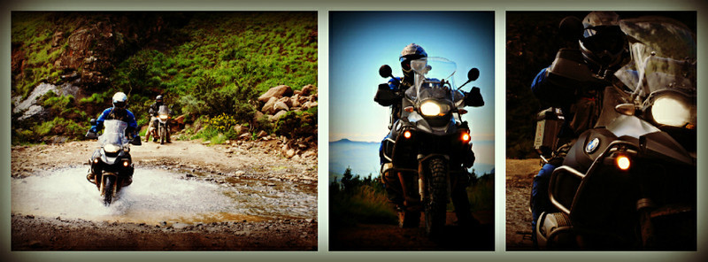Another one from Gillian....African R1200GS photo montage by Gillian Hine.