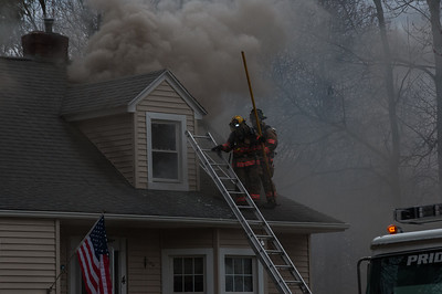 Structure Fire - 4 Old School House Rd, Prospect, CT - 4/26/15