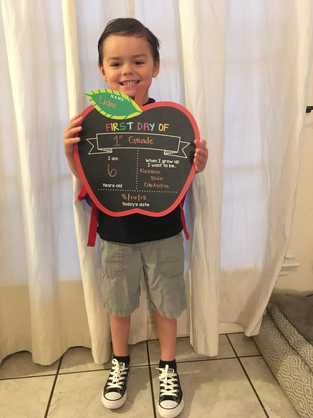 Liam | 1st | Knowles Elementary School