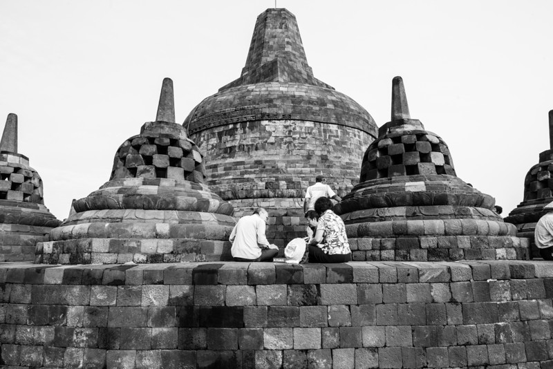 Pilgrims Praying
